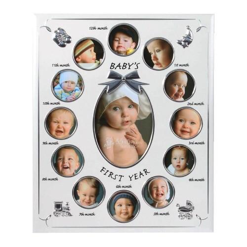 Rama foto aluminiu Babys First Year - egato.ro