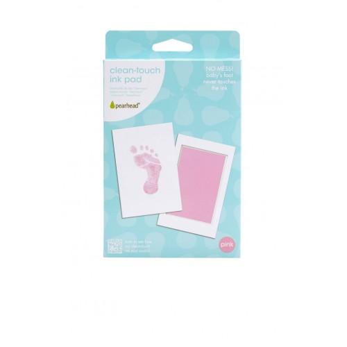 Pearhead - Kit amprenta cu cerneala pentru piciorus - roz - egato.ro