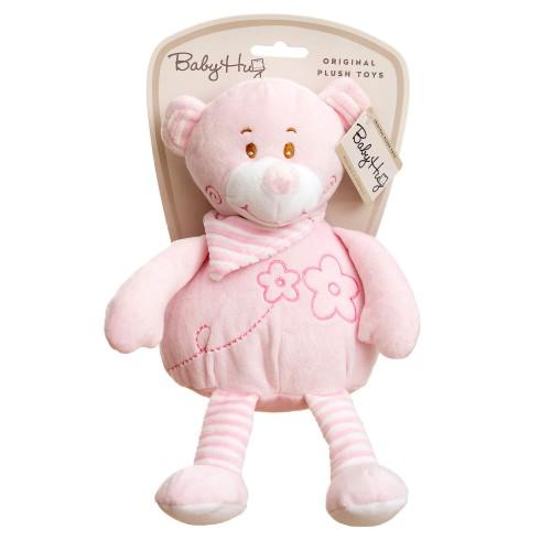 Baby Hug - Ursulet roz moale din plus - egato.ro