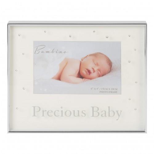 Bambino by Juliana - Rama cu margini argintate Precious Baby - egato.ro