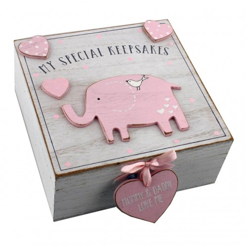 Cutiuta amintiri roz din MDF  My Special Keepbox - egato.ro