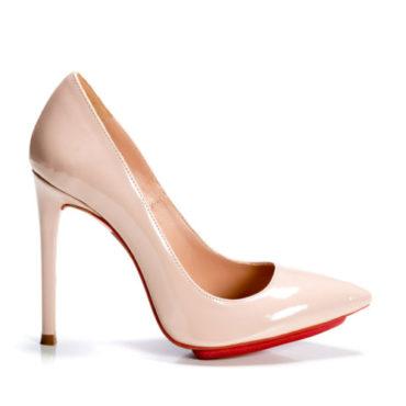 Pantofi de dama Mineli Stiletto Damour Nude - 36 - egato.ro