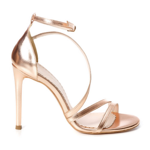 Sandale de damă Mineli Alena Bronze - 35 - egato.ro