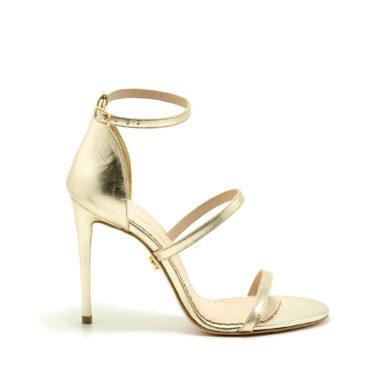 Sandale Mineli Dea Gold - Gold, 38 - egato.ro