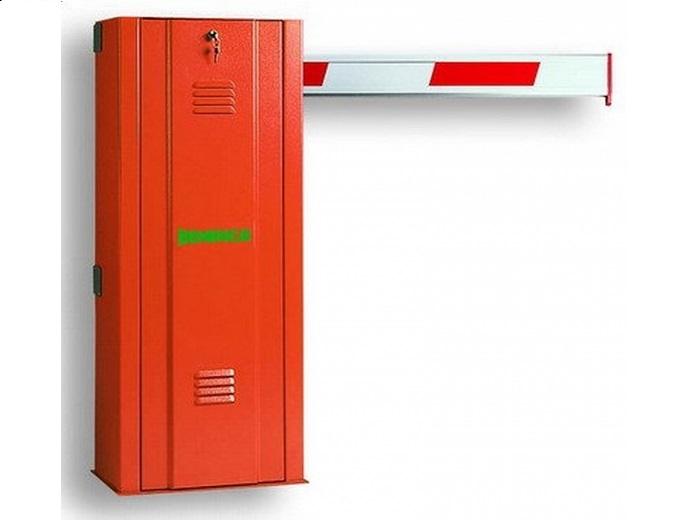 Bariera electromecanica pentru brat de maxim 6.5 m, cuplu 285Nm, timp de deschidere 5-7 secunde