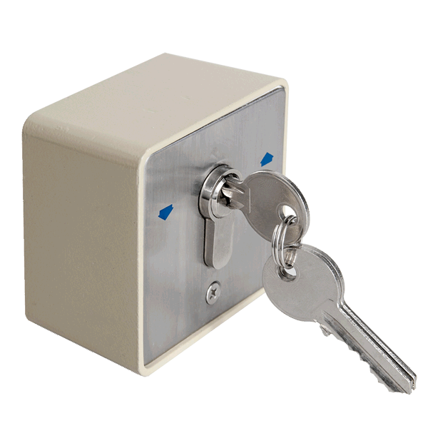 Buton aplicabil cu cheie YKS-803D1 YKS-803D1