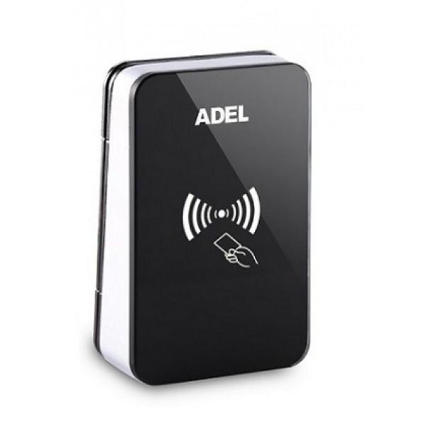 Controler cu Cititor de proximitate incorporat, compatibil cu sistemul de control acces hotelier ADEL HLCR-MF-A-V2