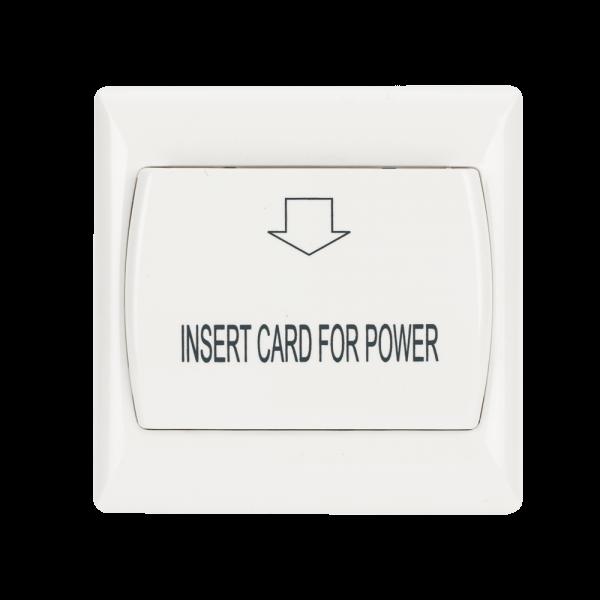 Economizor de energie pentru camere - card PVC HLES30A-PVC