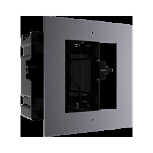 Rama montaj ingropat, 1 modul, pentru Interfon modular - HIKVISION DS-KD-ACF1