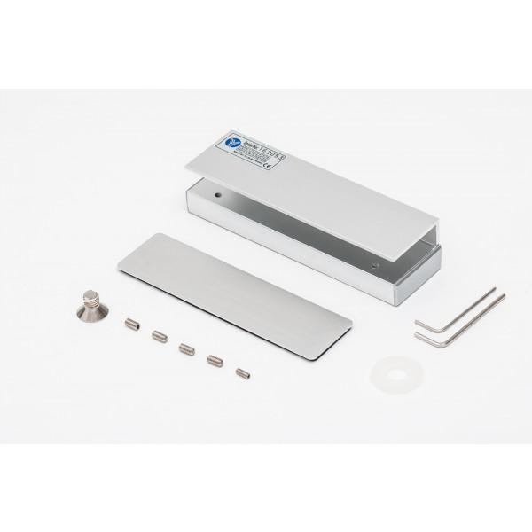 Suport pentru montarea contraplacii magnetilor de 180Kgf pe usi de sticla MBK-180U - egato.ro