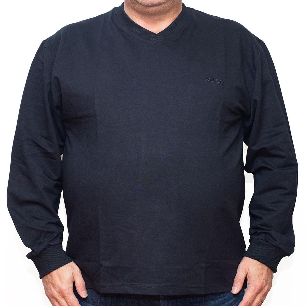 Bluza subtire neagra cu anchior , Marime 3XL - egato.ro