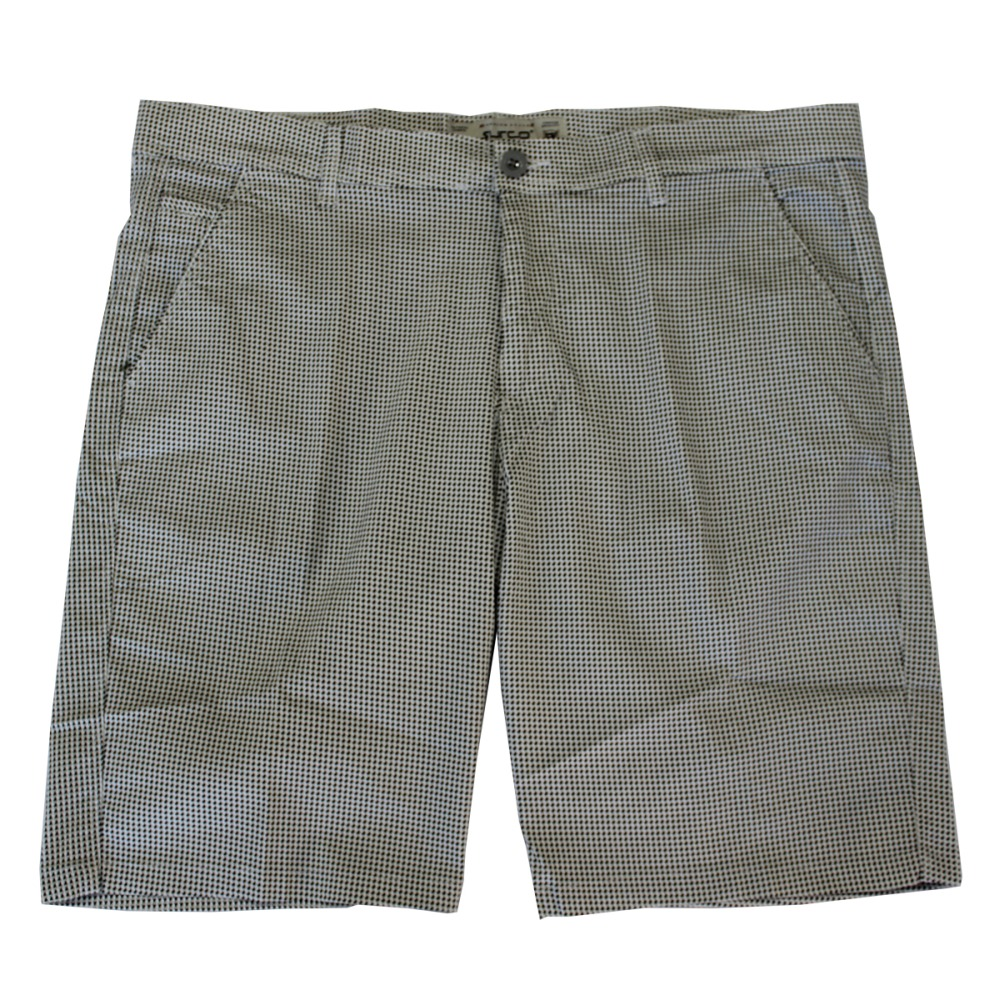Pantalon scurt cu picouri alb-negru, Marime 66 - egato.ro