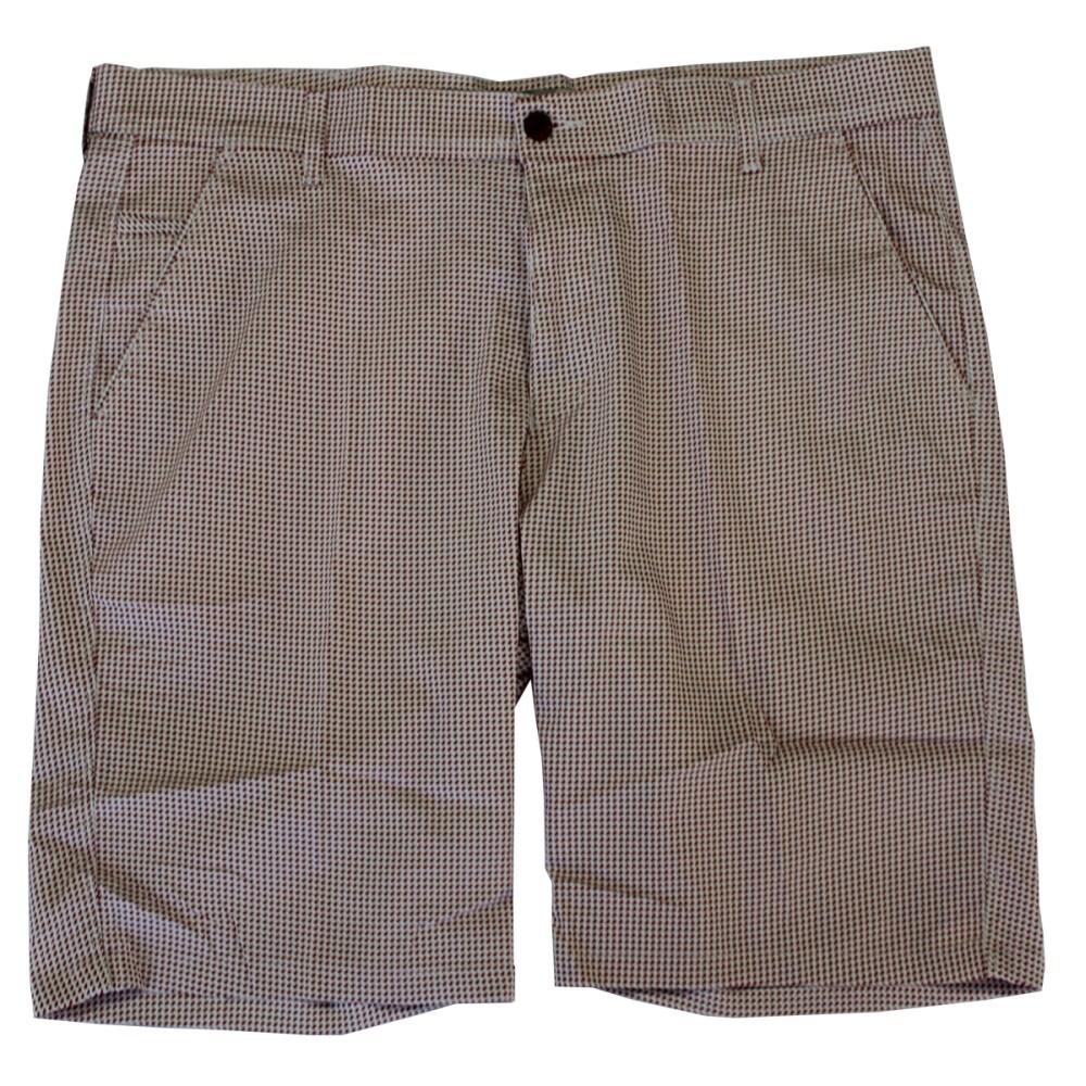 Pantalon scurt cu picouri alb-rosu, Marime 58 - egato.ro