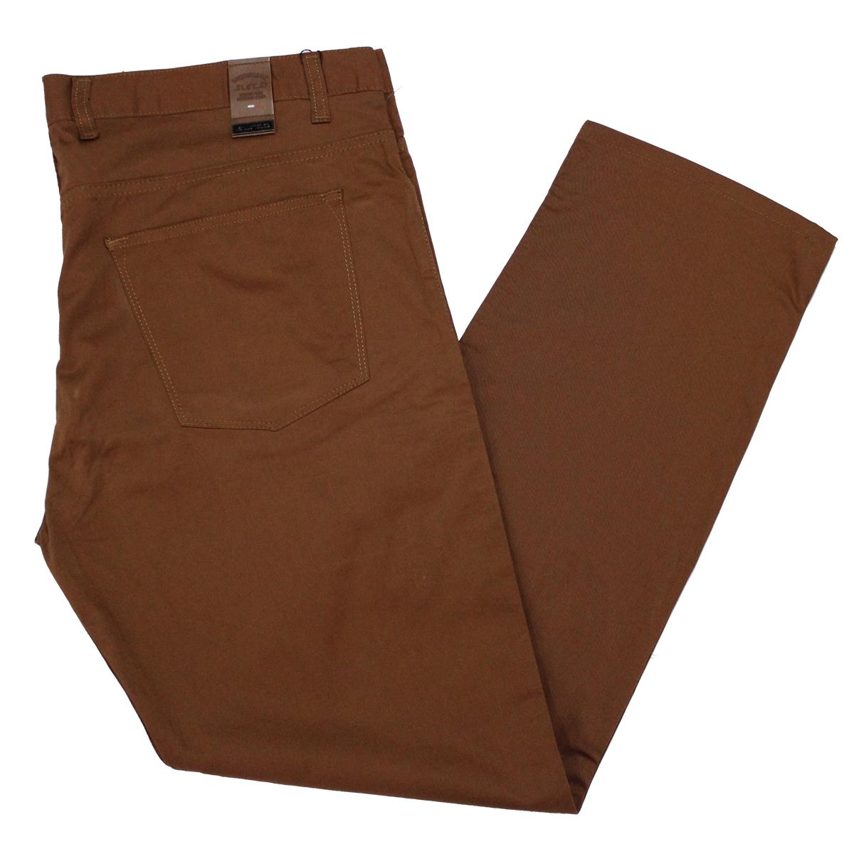 Pantalon subtire maro inchis , Marime 58 - egato.ro