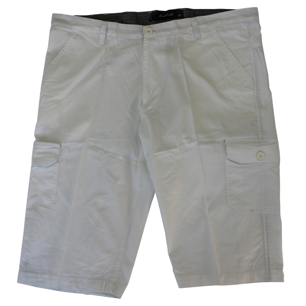 Pantalon trei sferturi alb, Marime 66 - egato.ro