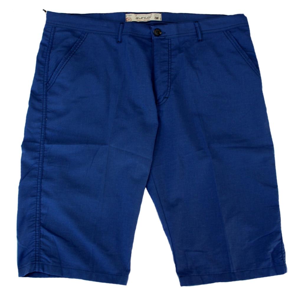 Pantalon trei sferturi albastru, Marime 64 - egato.ro
