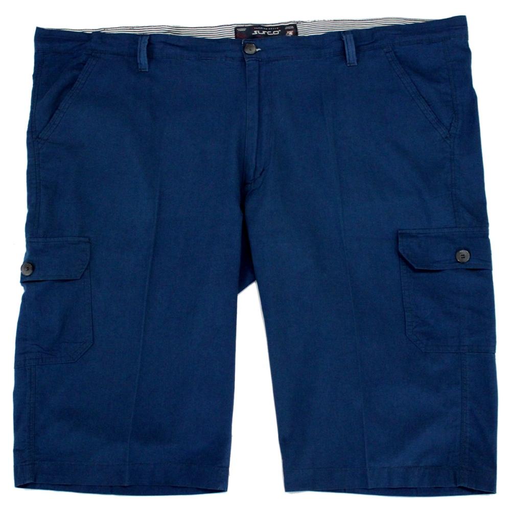 Pantalon trei sferturi albastru , Marime 64 - egato.ro