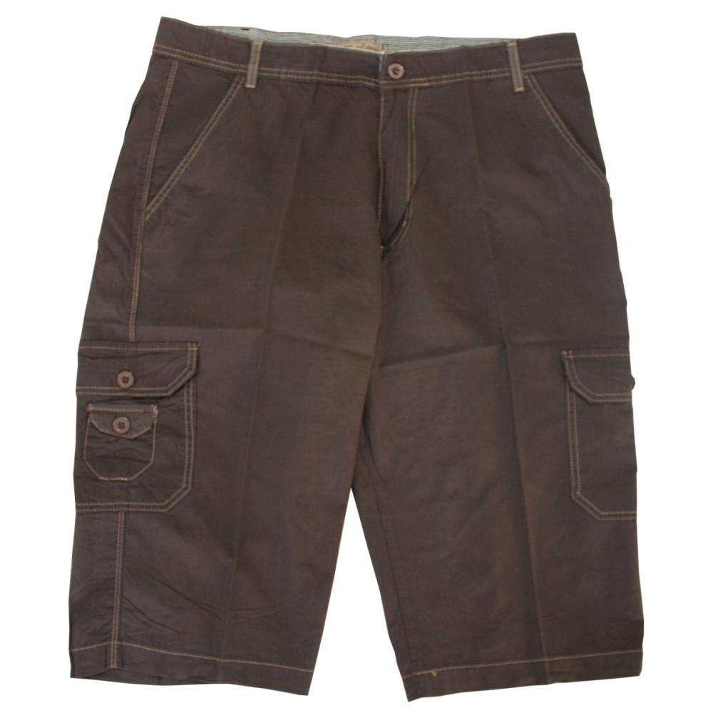 Pantalon trei sferturi maro, Marime 62 - egato.ro