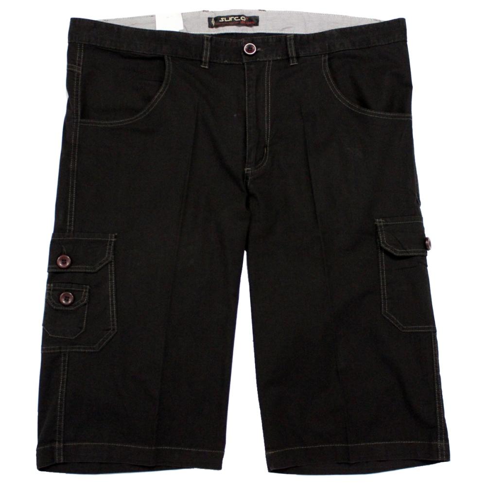 Pantalon trei sferturi negru, Marime 64 - egato.ro