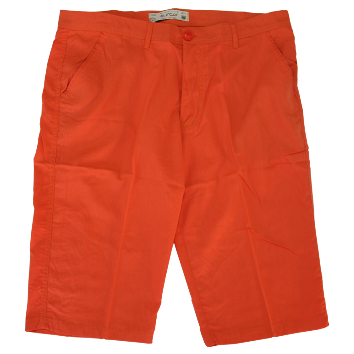 Pantalon trei sferturi portocaliu, Marime 54 - egato.ro