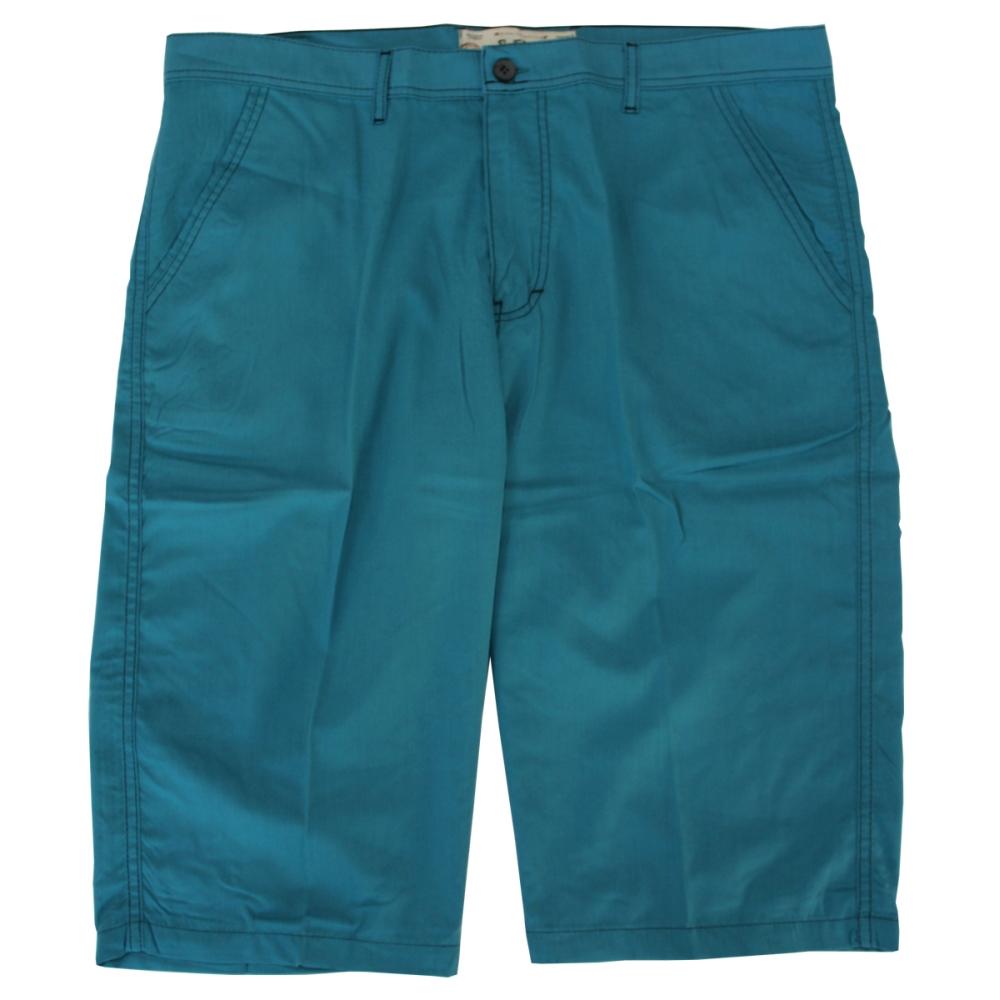 Pantalon trei sferturi turcoaz, Marime 56 - egato.ro