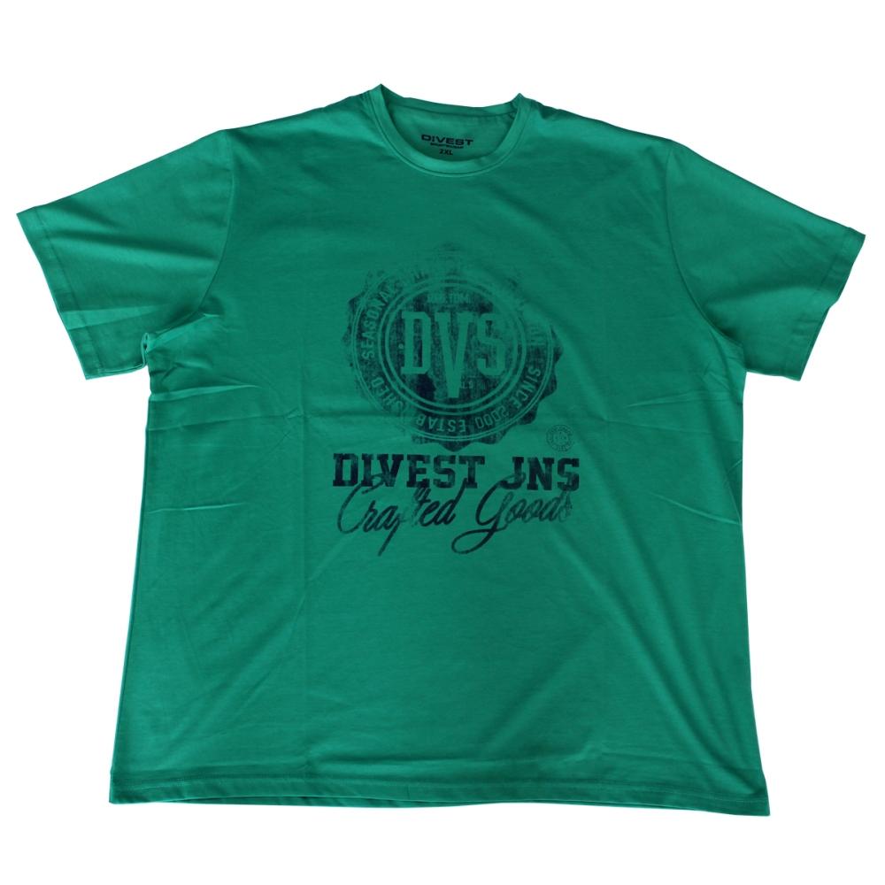 Tricou verde la baza gatului , Marime 5XL - egato.ro