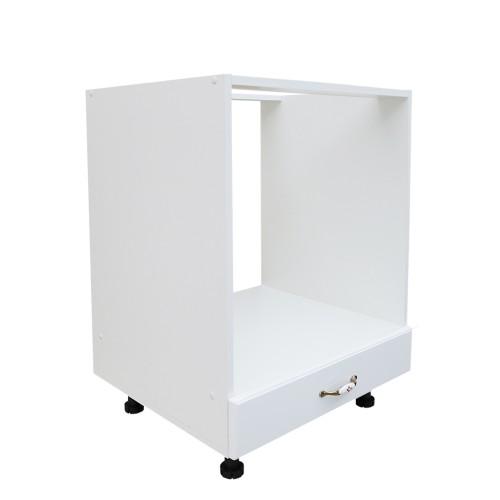 Corp inferior 60 pentru cuptor incorporabil cu 1 sertar Zebra MDF alb - egato.ro